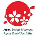 Certificado de agencia de viajes especialista en viajes a Japón
