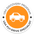 Certificado de especialista en viajes a EEUU Fly and Drive