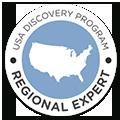 Certificado de agencia de viajes especialista en viajes a EEUU