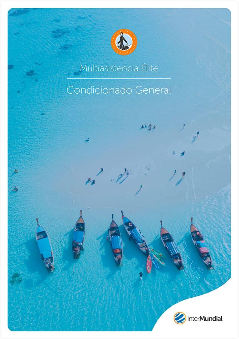 portada Seguro viajes Multiasistencia Élite Condicionado General