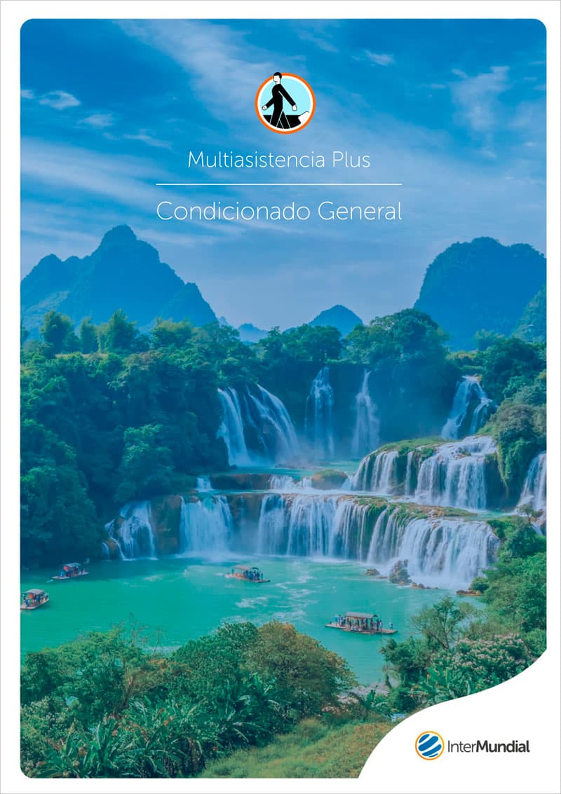 portada Seguro viajes Multiasistencia Plus Condicionado General