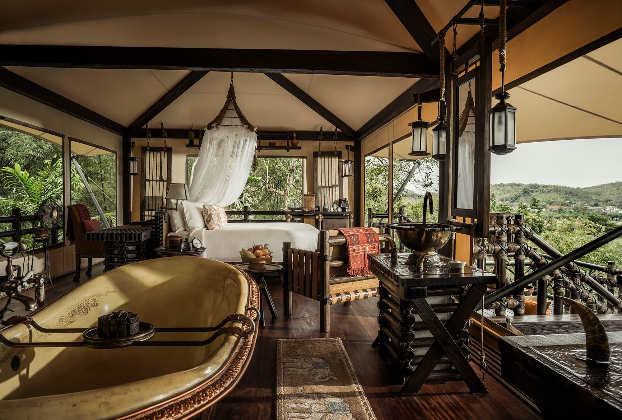 El triángulo de oro en campamento de lujo y Phi Phi Island - Tailandia- imagen #3