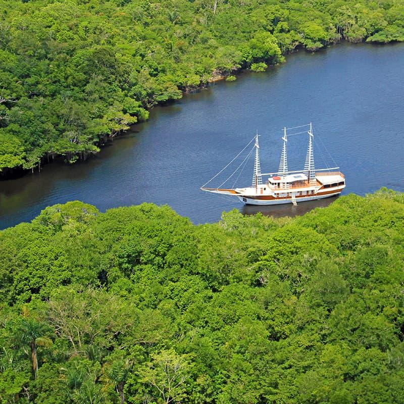 Viajes a medida | Crucero: Desafío Amazonas Brasil (4 días)-Cruceros de lujo