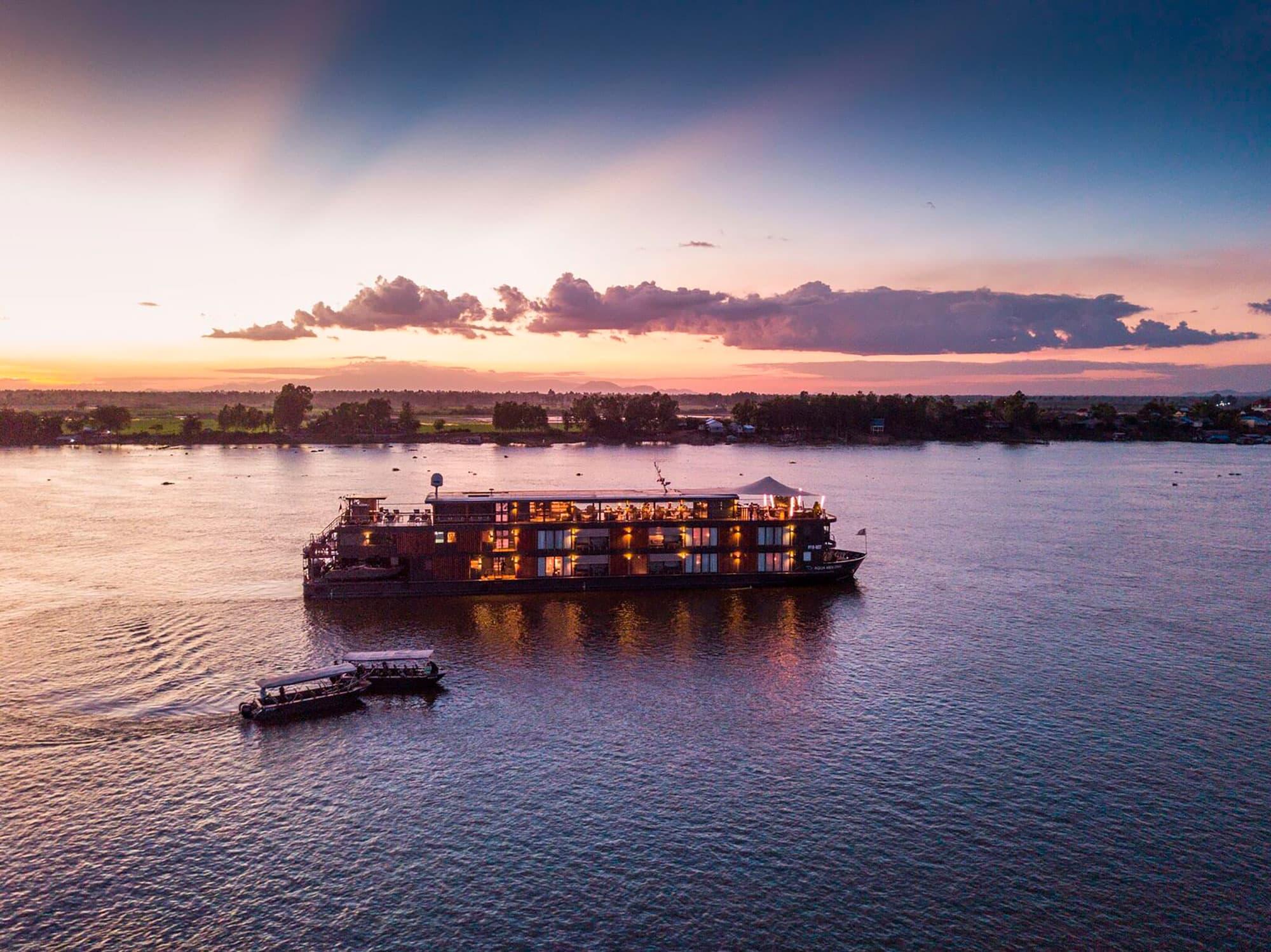 Crucero AQUA de 3 noches – Río abajo – Temporada de Agua Baja (De Phnom Penh a Ho Chi Minh) - Vietnam- imagen #1
