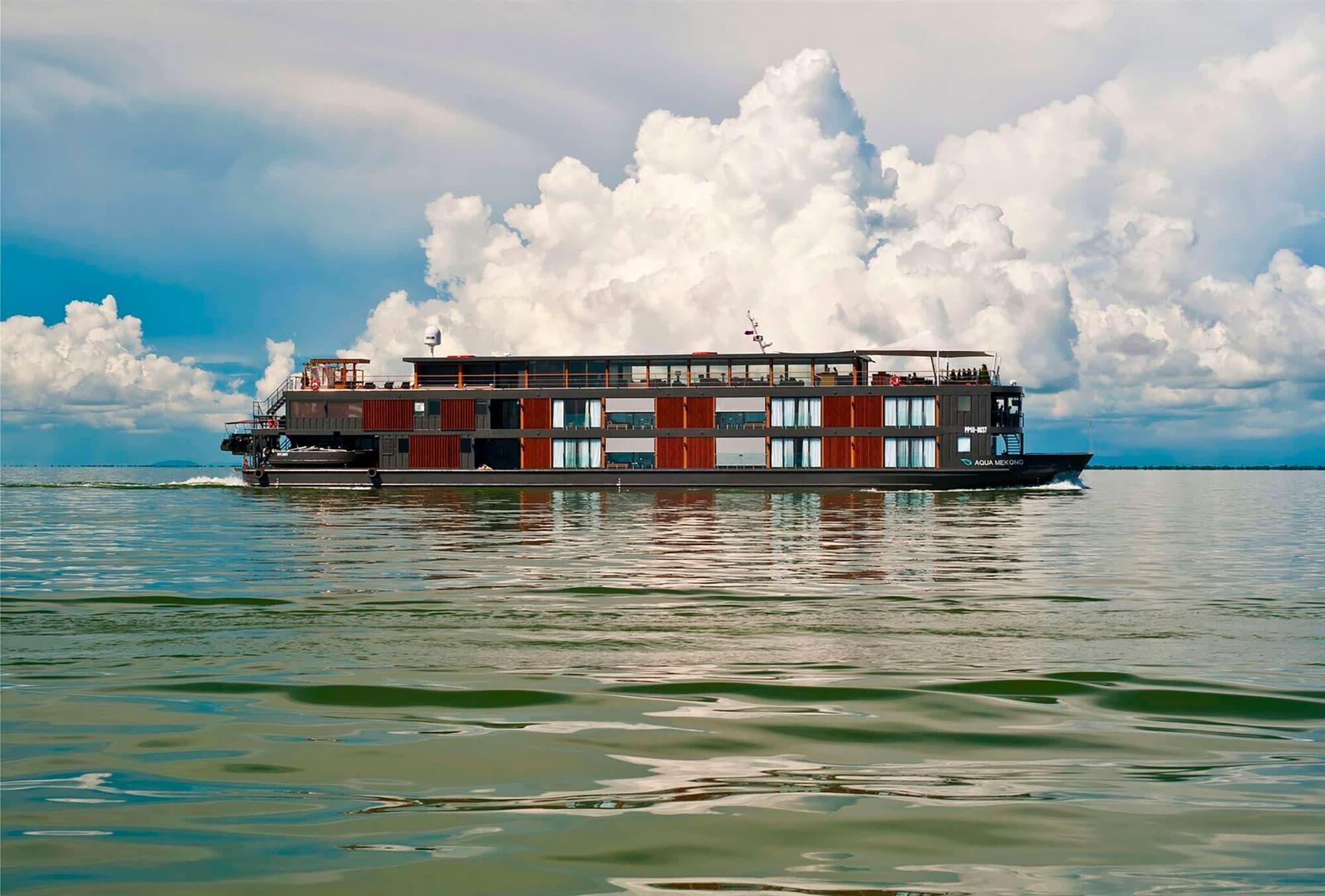 Crucero AQUA de 4 noches – Río arriba – Temporada de Agua Alta (De Ho Chi Minh a Phnom Penh) - Vietnam- imagen #1