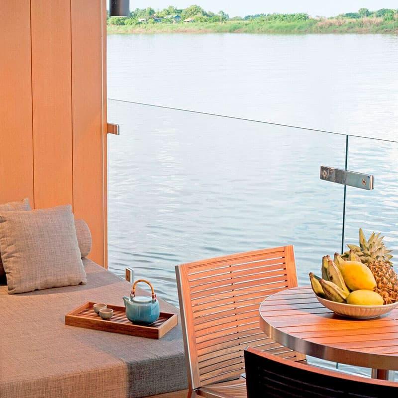 Viajes a medida | Crucero AQUA de 7 noches – Río abajo – Temporada de Agua Alta (De Siem Riep a Ho Chi Minh)-Cruceros de lujo