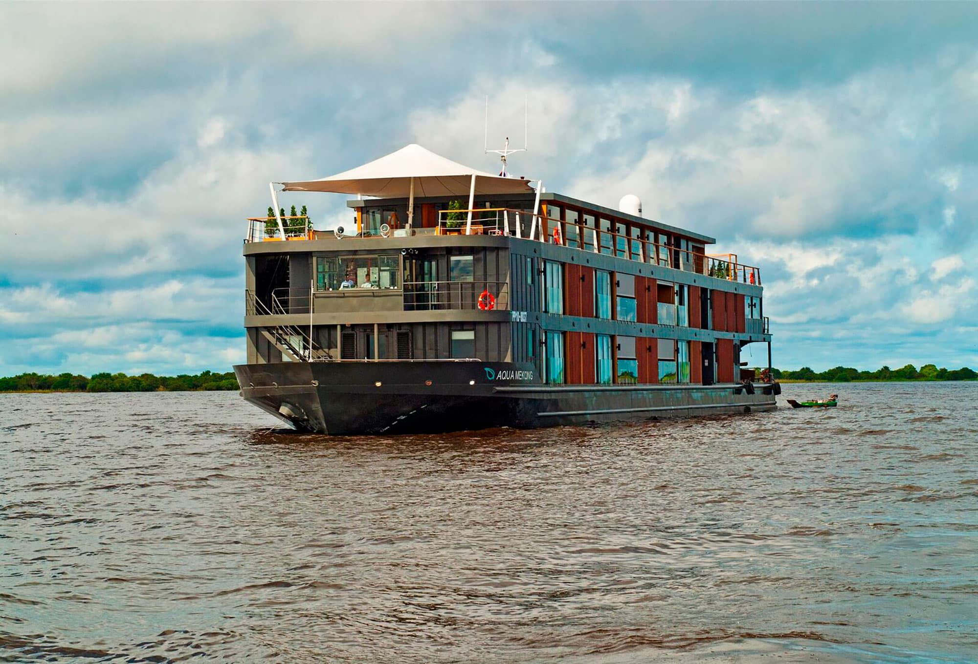 Crucero AQUA de 7 noches – Río arriba – Temporada de Agua Alta (De Ho Chi Minh a Siem Riep) - Vietnam- imagen #6