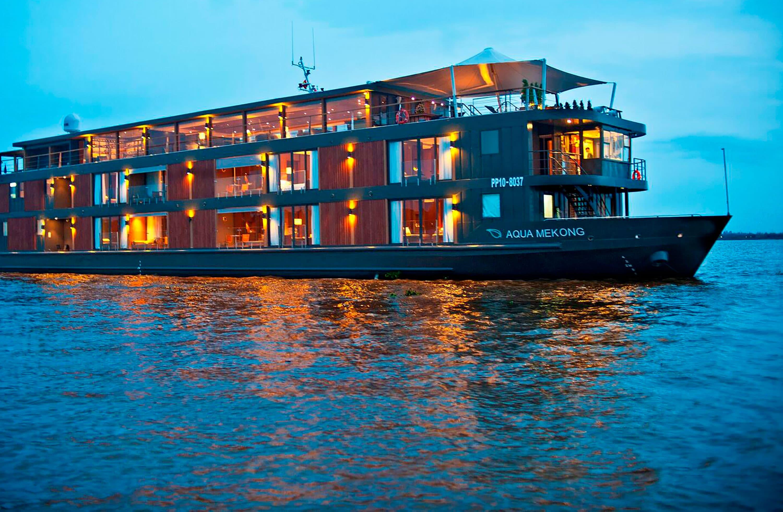 Crucero de lujo de 8 días  por el río Mekong  - Vietnam - Camboya