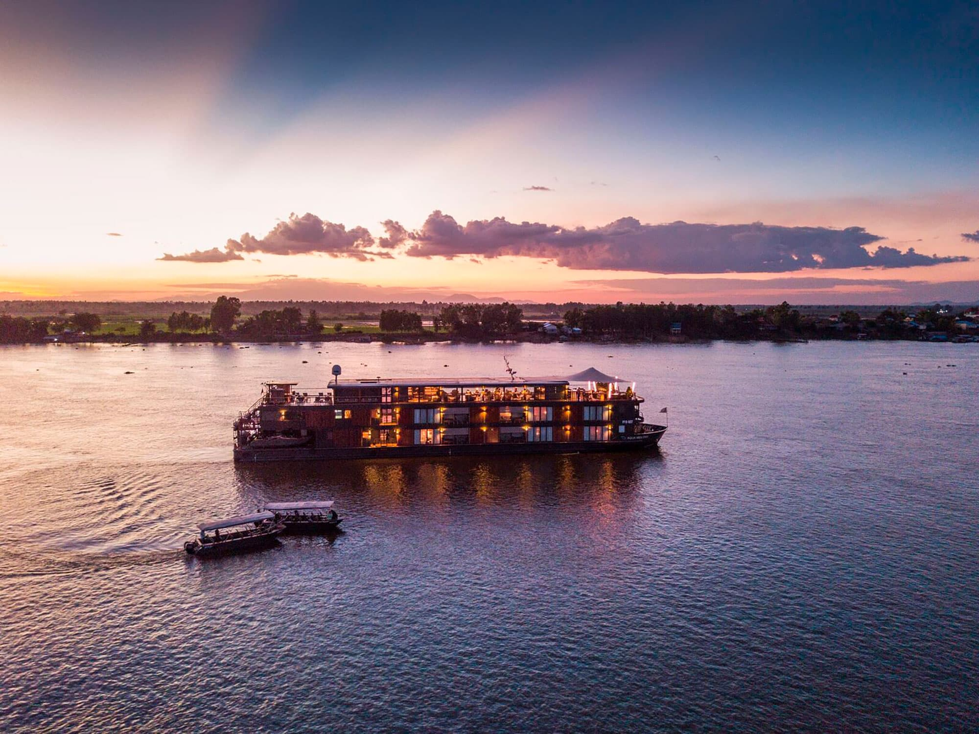 Crucero AQUA de 7 noches – Río arriba – Temporada de Agua Baja (De Ho Chi Minh a Phnom Penh) - Vietnam- imagen #1