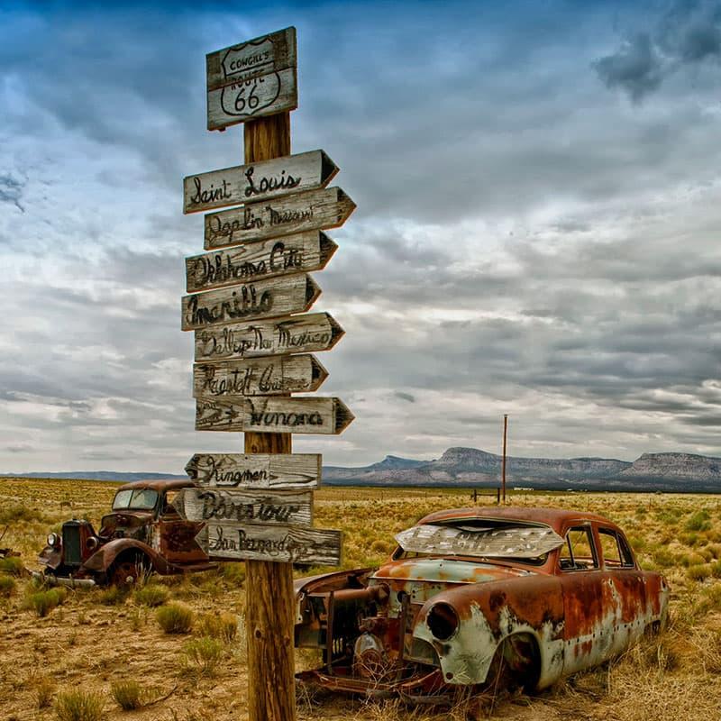 Viajes a medida | Ruta 66-de novios
