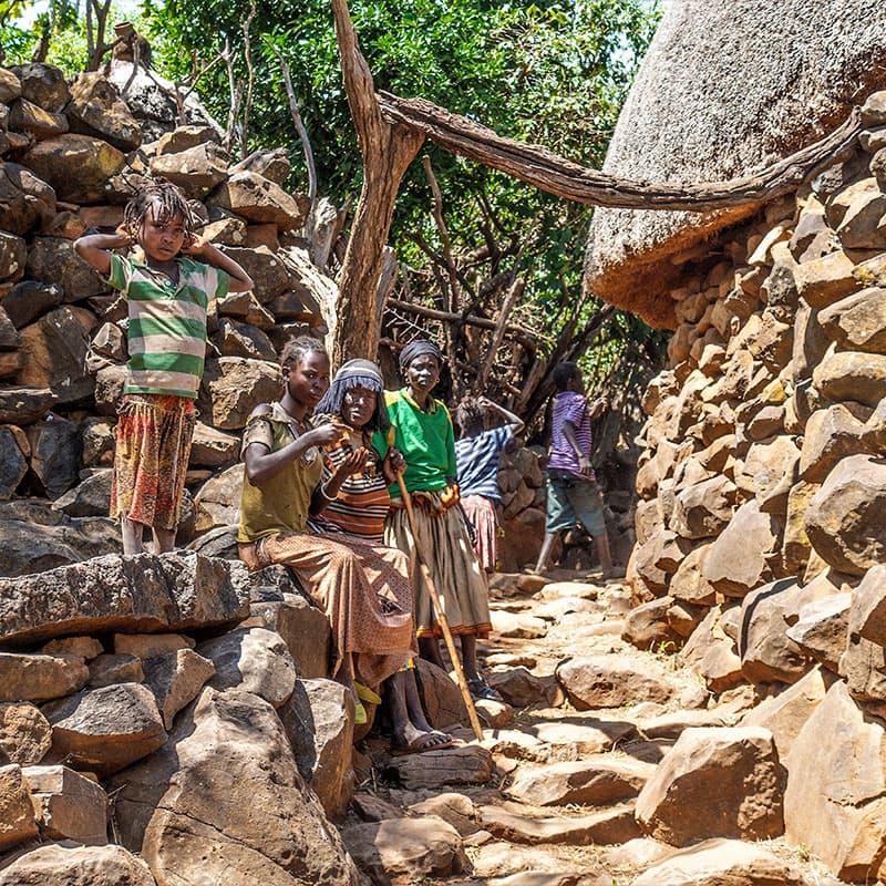 Viajes a medida | Norte y Sur de Etiopía-de novios