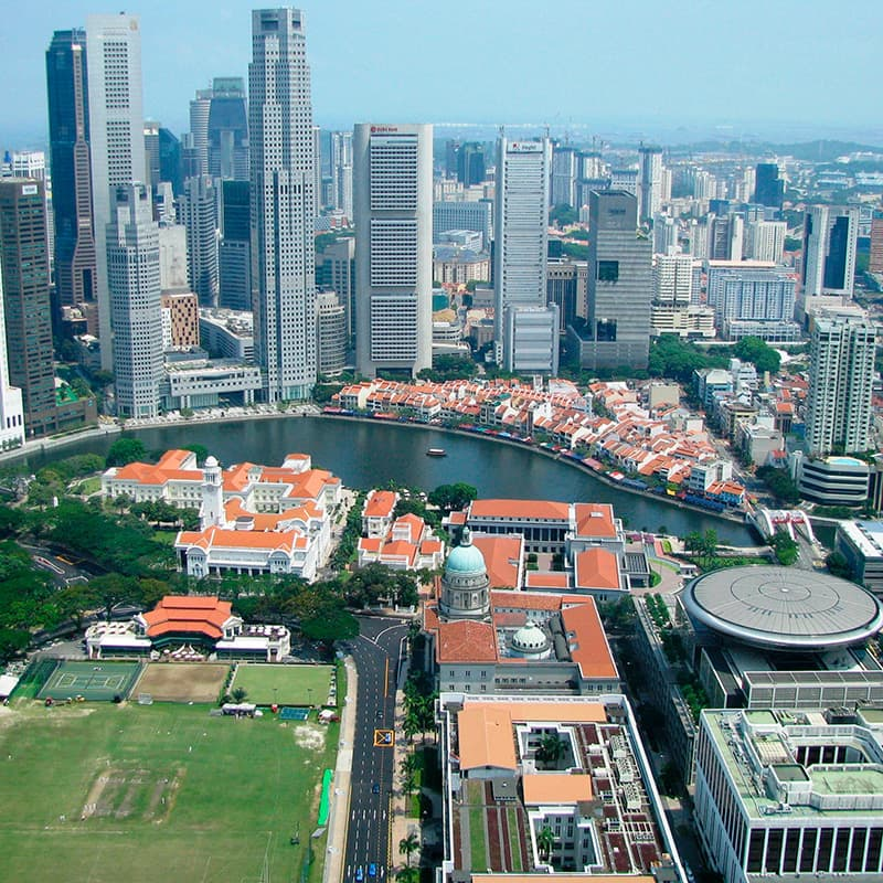 imagen noticia: Singapur, el Nueva York Asiático
