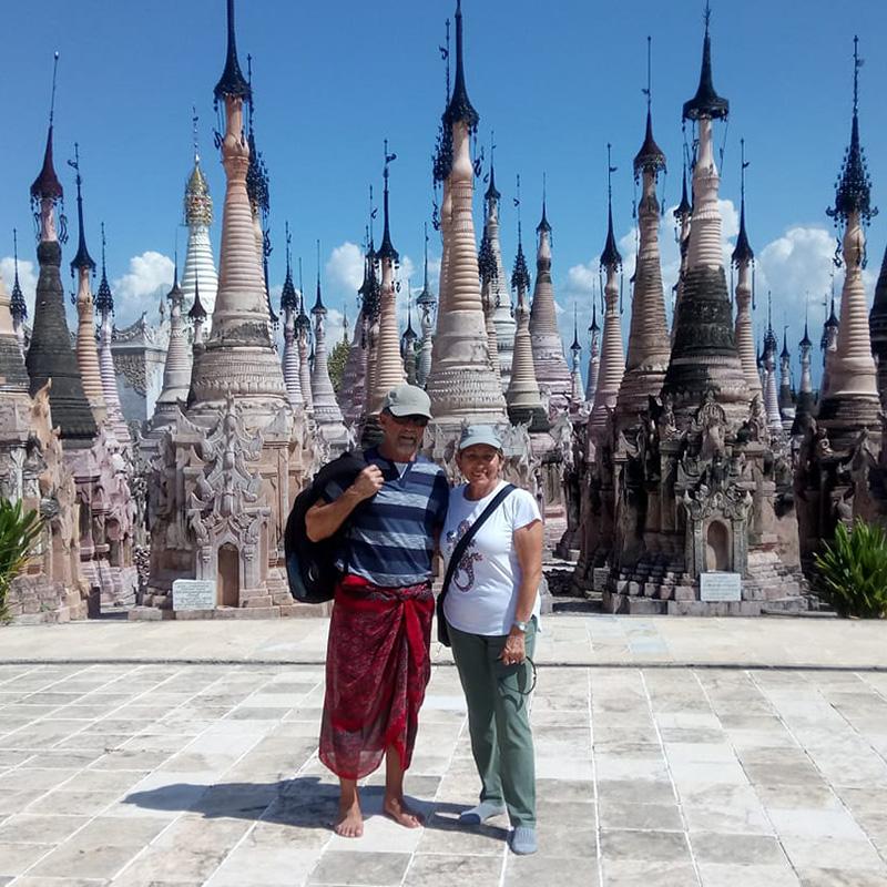 testimonio de Isabel y Jose Luis sobre su viaje a Myanmar en grupo